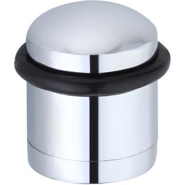 Cylinder Door Stop Polished Chrome