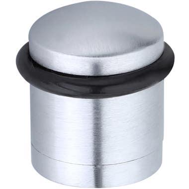 Cylinder Door Stop Satin Chrome