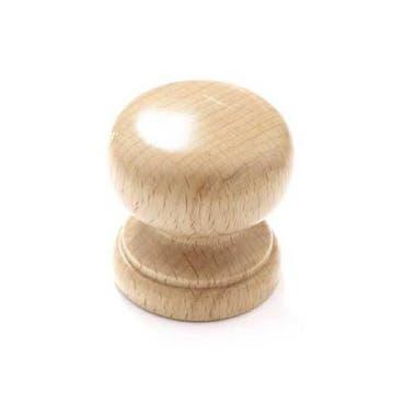 Granny Beech Cabinet Knob 50mm Wooden
