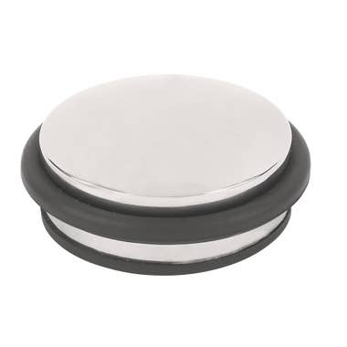 Dome Weight Door Stop Polished Stainless Steel