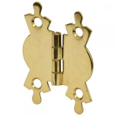 53mm Butterfly Hinge Brass Plated