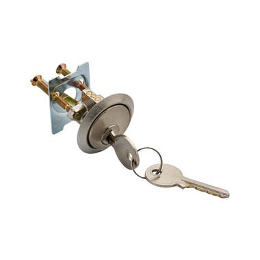 5 Pin Replacement Cylinder Satin With 2 Keys