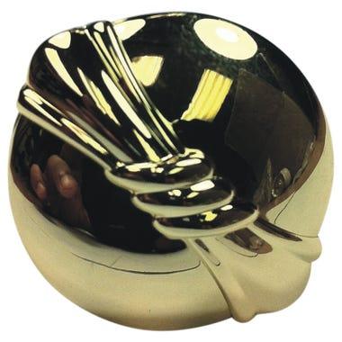 Bundled Reed Knob 30mm Brass Plated