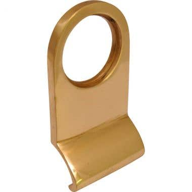 Cylinder Pull Polished Brass