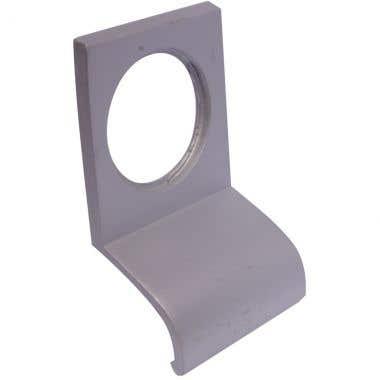Cylinder Pull Satin Aluminium