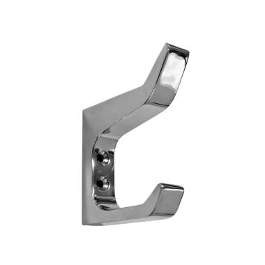 Architectural Hat & Coat Hook Chrome Plated 65mm
