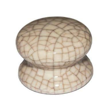 Ceramic Cabinet Knob 50mm Crackle