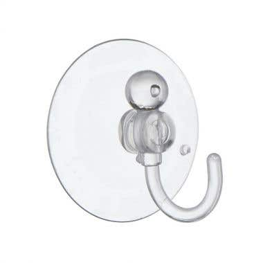 Clear Suction Hooks 40mm