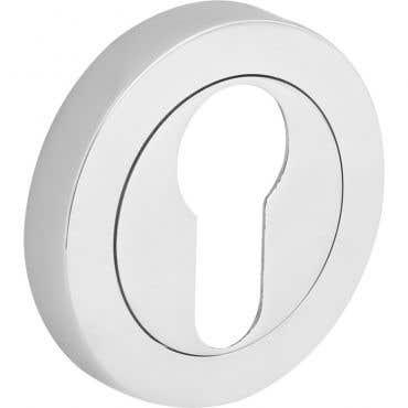 Escutcheon Euro Lock  - Chrome