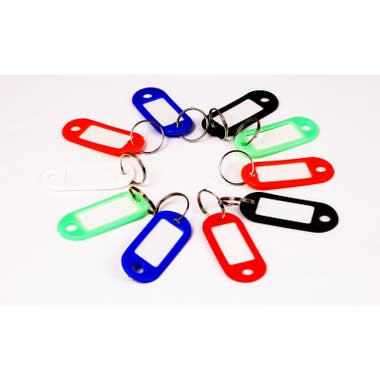 Assorted Colour Key Tags