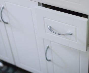 Bathroom cabinet handles category