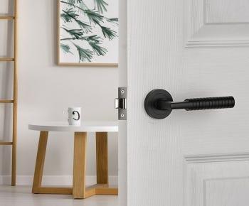 Black door handles category