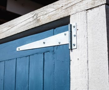 External door hinges category