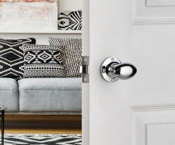 Silver door knobs category